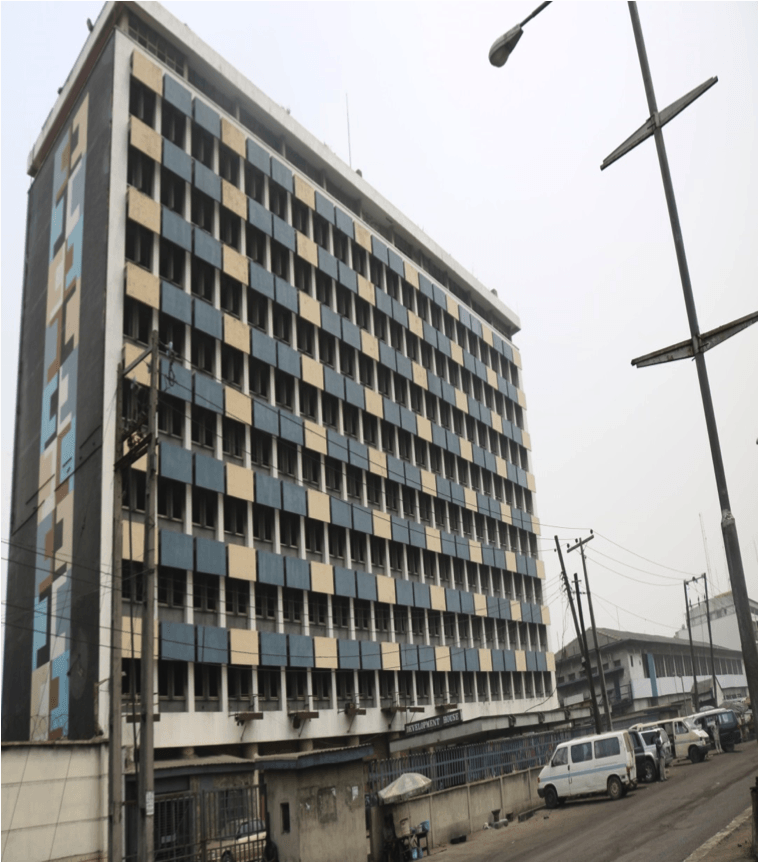 DEVELOPMENT HOUSE,APAPA LAGOS