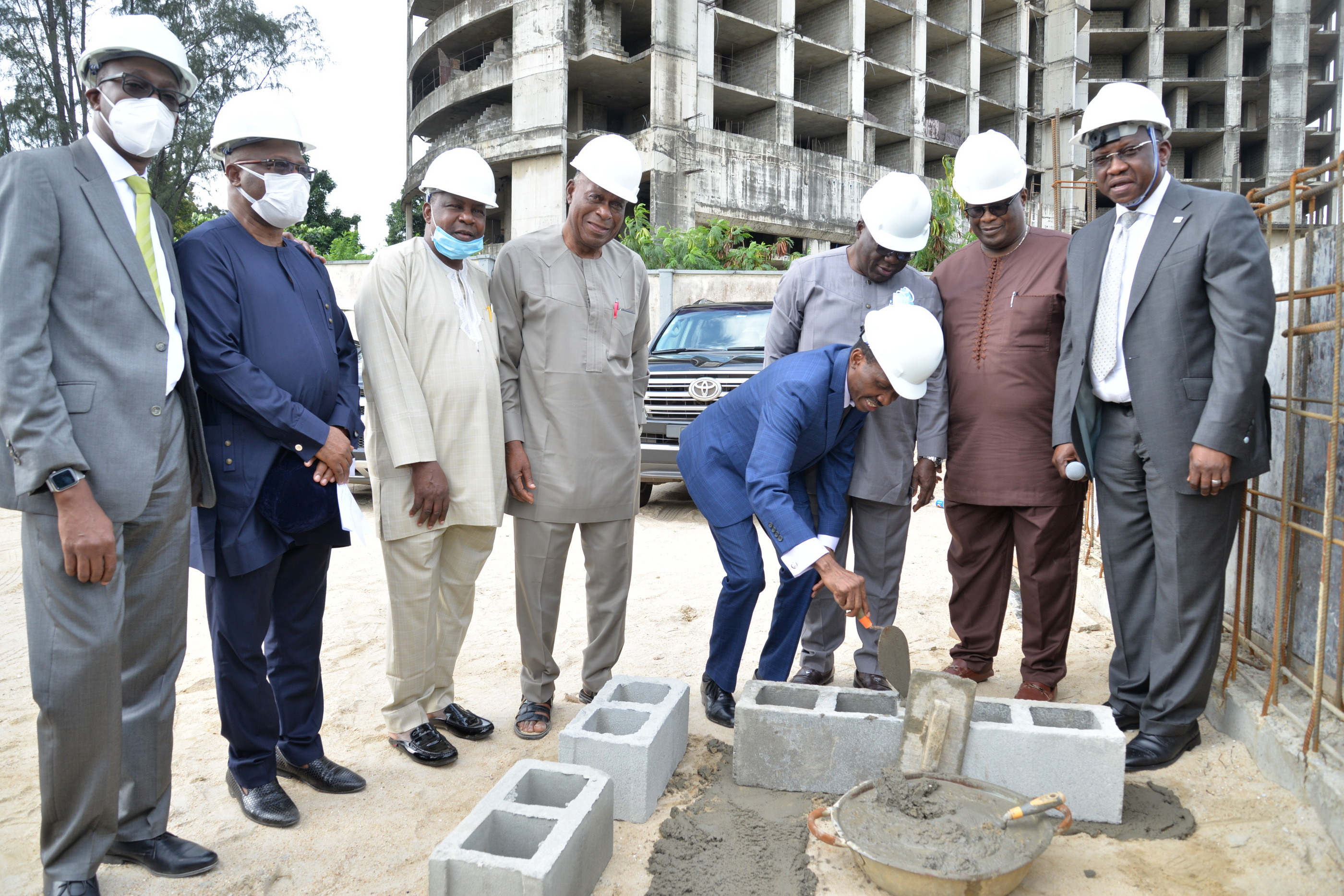 SOD-TURNING OF 37 A AND C IKOYI CRESCENT